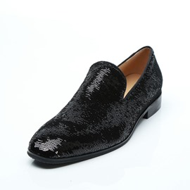 Ericdress Sequin Low-Cut Upper Men's Shoes
