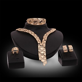 Ericdress Alloy Diamante Party Jewelry Set
