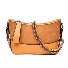 Ericdress Barrel Shaped Zipper Women Crossbody Bag