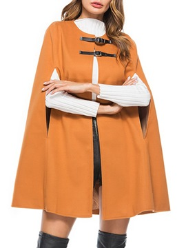 Ericdress Plain Thick Claw Button Cape