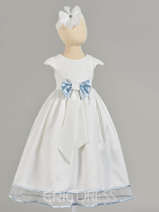 Ericdress A Line 3/4 Sleeve Girl's Christening Gown