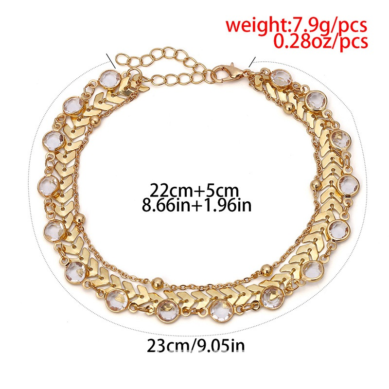 Ericdress Multilayer Chain Anklets