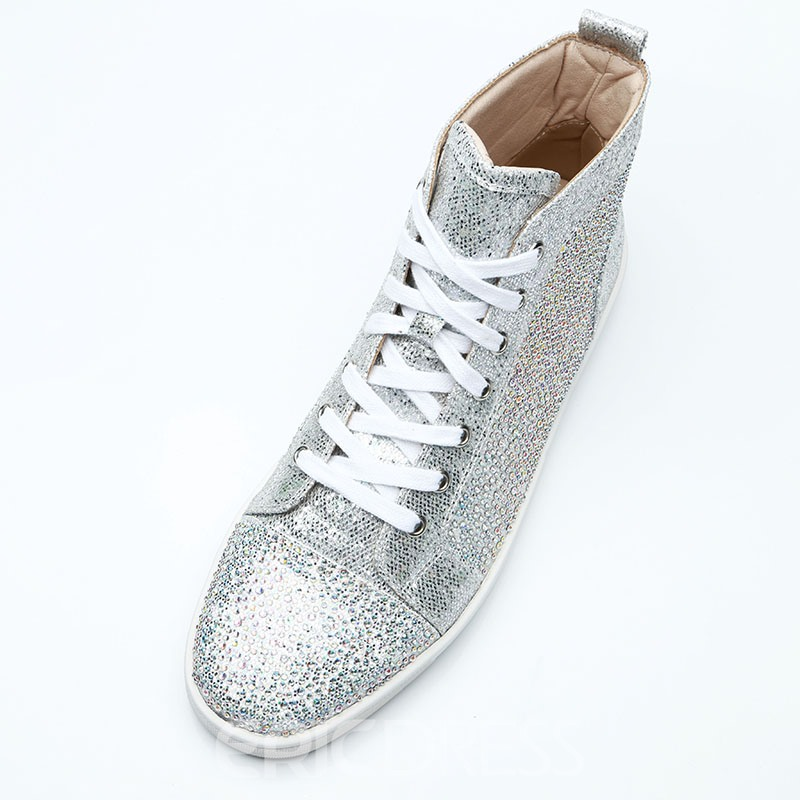 Ericdress Rhinestone High-Cut Upper Men's Shoes
