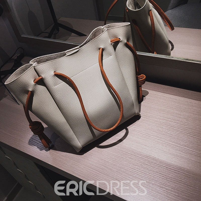Ericdress Modern Style Shell Shaped Soft String Bag