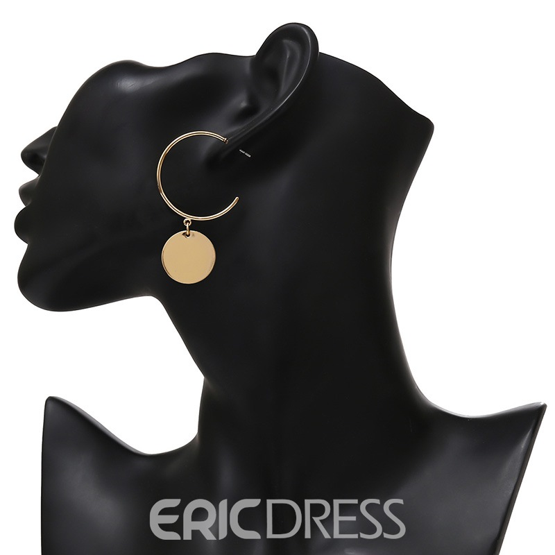 Ericdress Round Slice Fashion Stud Earrings