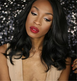 Ericdress African American Slight Wave Synthetic Hair Lace Front Wig