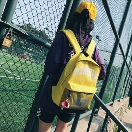 Ericdress Korean Style Oxford Backpack