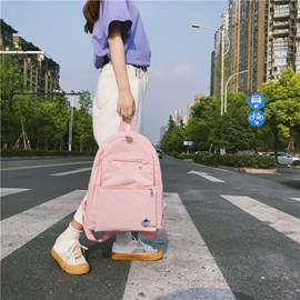 Ericdress Fresh Nylon Soft Backpack
