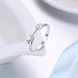 Ericdress Link You Wedding Ring