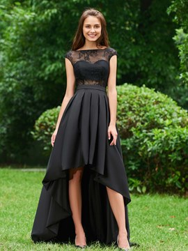 Plus Size High Low Prom Dresses 2018 -EricDress.com