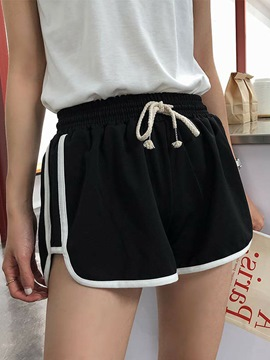 Ericdress Women's Lace-up Loose Breathable Sport Shorts