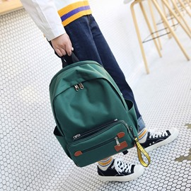 Ericdress Korean Style Canvas Soft Backpack