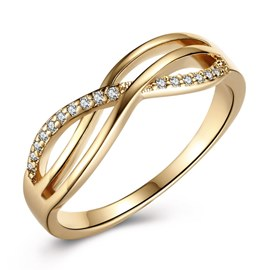 Ericdress Follow You Wedding Ring