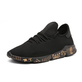 Ericdress Mesh Casual Plain Lace-Up Men's Sneakers