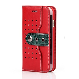 Estuche ericdress west cowboy leather iphone