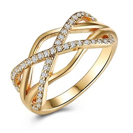 Ericdress Twine Wedding Ring