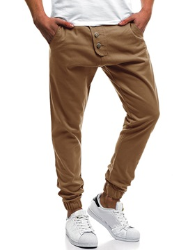Ericdress Plain Loose Mens Casual Pencil Pants