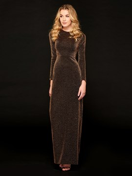 Ericdress Sheath Long Sleeve Evening Dress