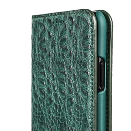 ericdress funda de cuero superior del iphone
