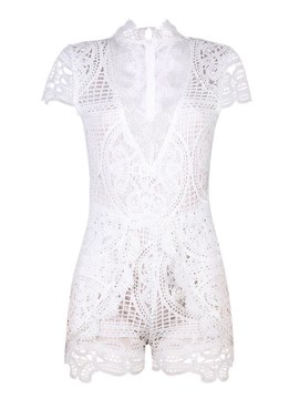 Ericdress Lace Women's Rompers