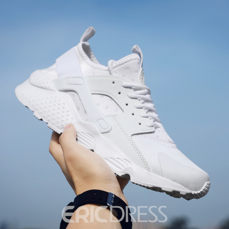 Ericdress Mesh Patchwork Plain Lace-Up Men's Sneakers