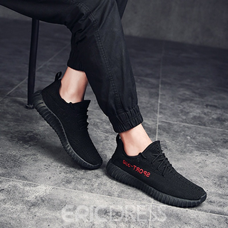 Ericdress Mesh Low-Cut Lace-Up Men's Sneakers