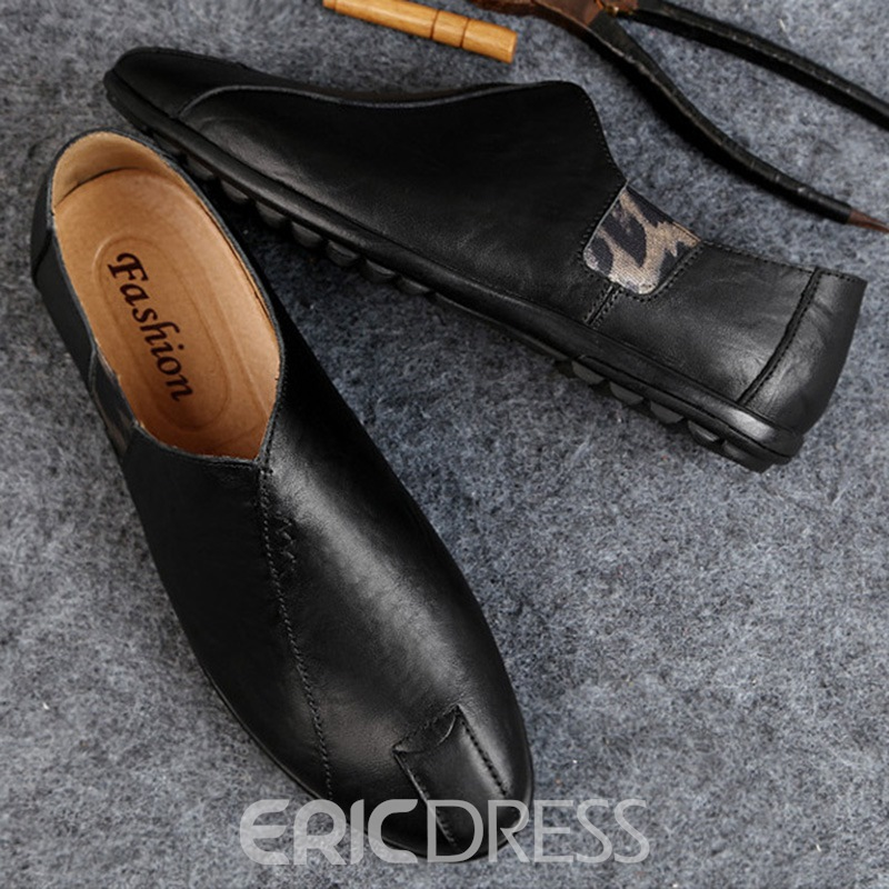 Ericdress Slip-On Round Toe Low-Cut Men's Shoes