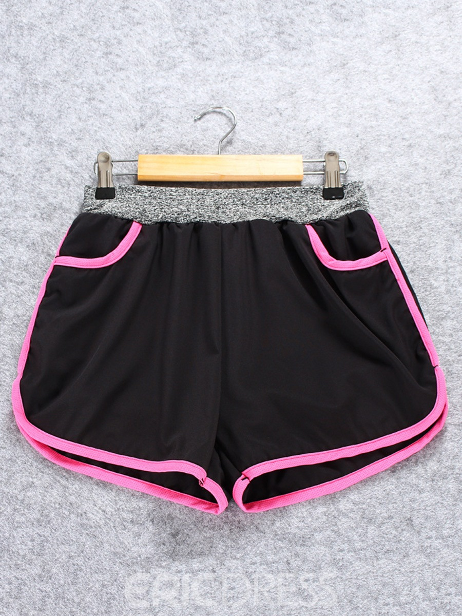 Ericdress Lined Quick-drying Women's Sport Shorts