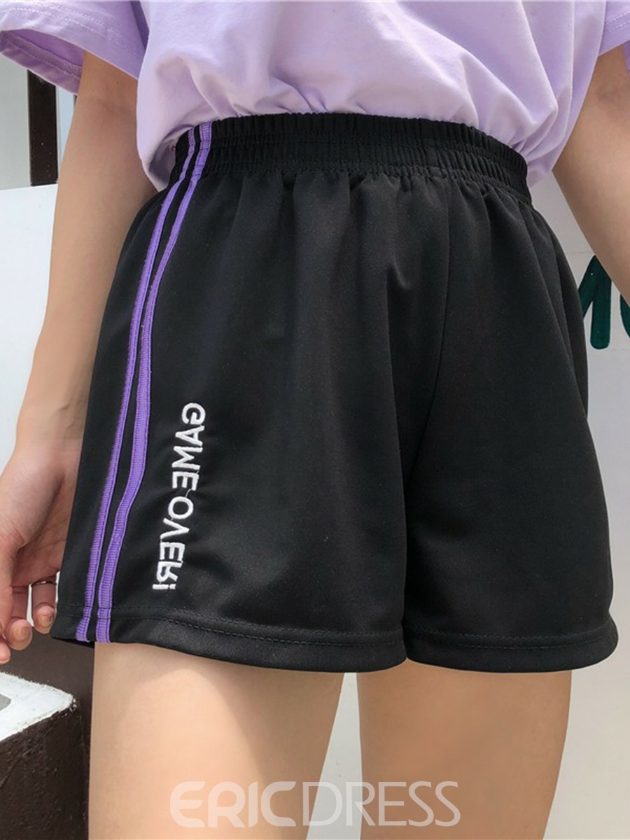 Ericdress Loose Breathable Women's Sport Shorts
