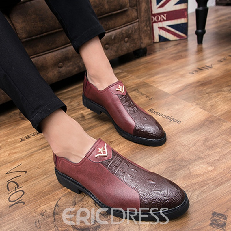 Ericdress Professional Patchwork Slip-On Men's Oxfords