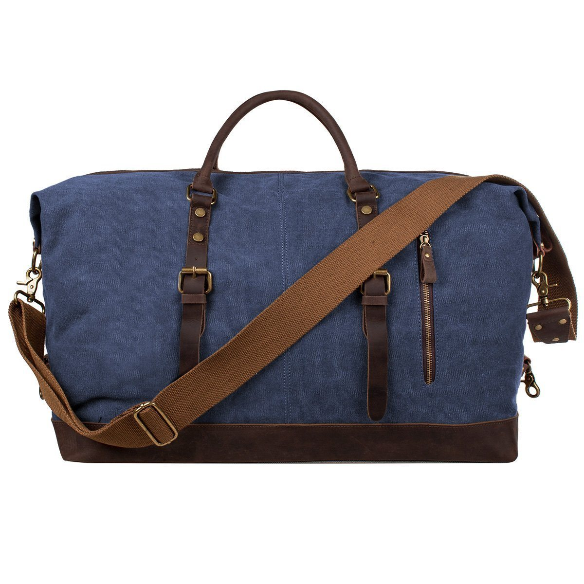 Ericdress Oversized Canvas Travel Tote Bag