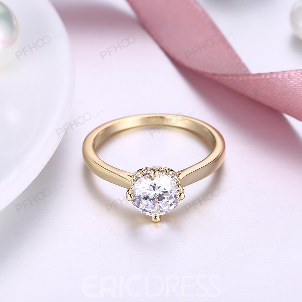 Ericdress Fashion Classic Rhinestone Ring