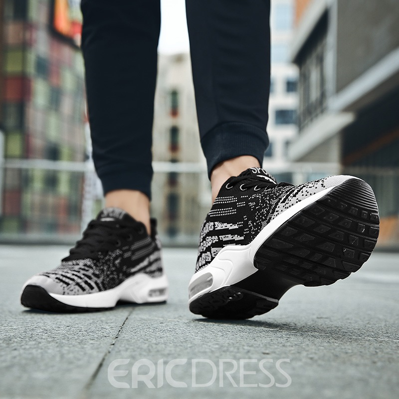 Ericdress Mesh Lace-UpRound Toe Men's Trainers