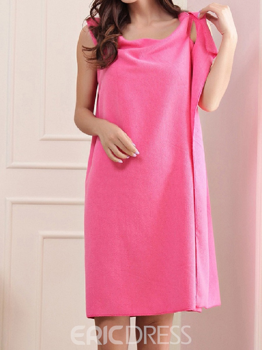 Ericdress Absorbent Wrap Body SkirtWearable Bath Robe 150*80cm