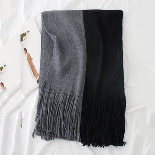 Ericdress Multicolor Tassels Scarf For Women