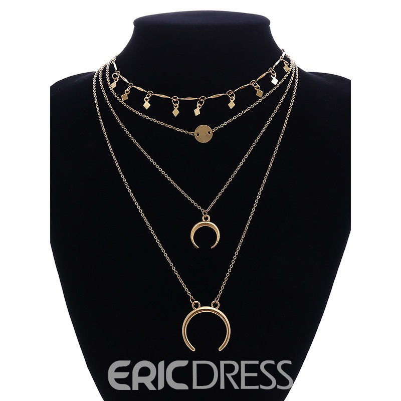 Ericdress Goddess Charm Necklace