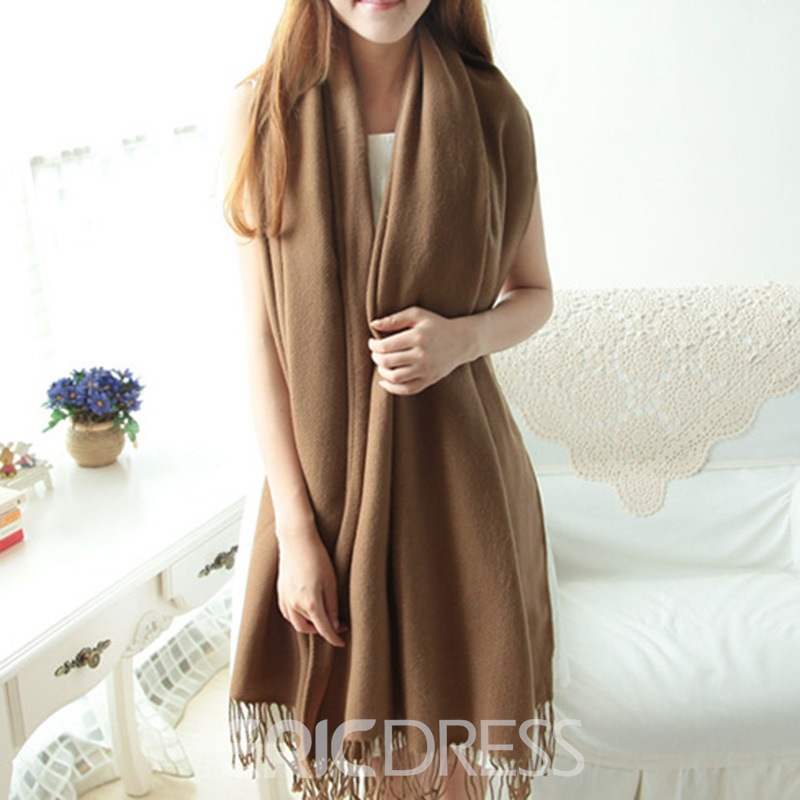 Ericdress Winter Grid Scarf
