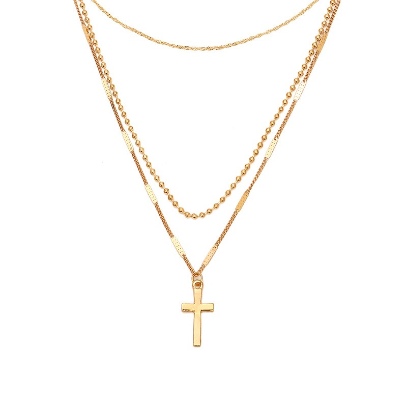 Ericdress Cross Charm Necklace