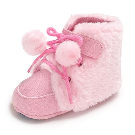 Ericdress Plain Lace-Up Infant Shoes