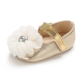Ericdress Floral Velcro Toddler Girl Shoes