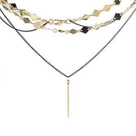 Ericdress Multilayer Charm Necklace For Women