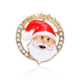 Ericdress Christmas Santa Brooches