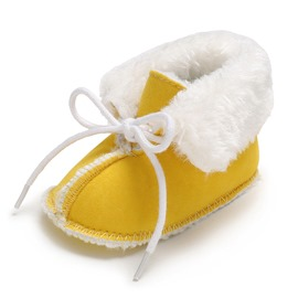Ericdress Plain Lacec-Up Infant Shoes