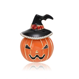 Ericdress Halloween Pumpkin Brooch