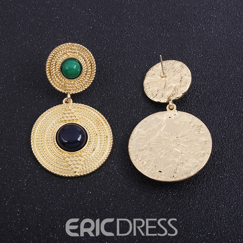 Ericdress Alloy Hoop Earrings