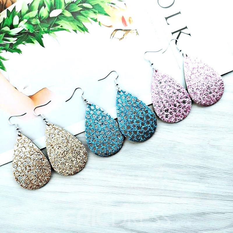 Ericdress Shinning Leather Chic Fashion Earrings