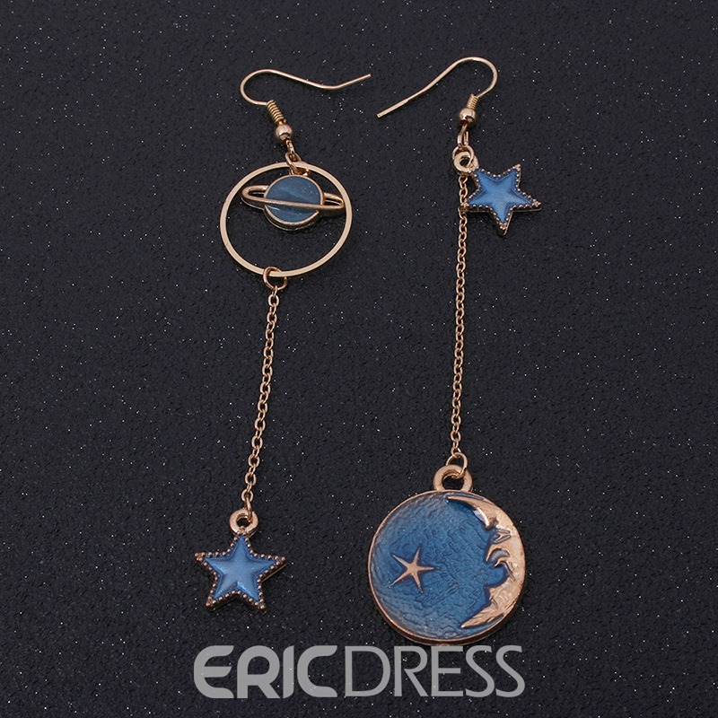 Ericdress Star Moon Fashion Earrings