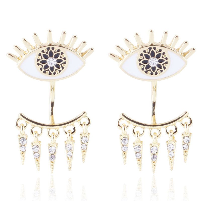 Ericdress Color Ring Earrings