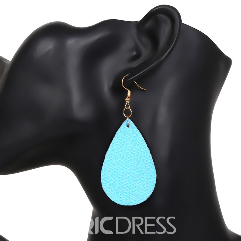 Ericdress Chic Leather Earrings