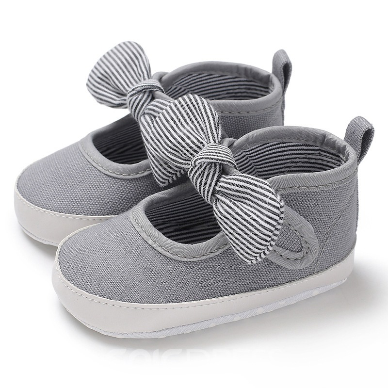 Ericdress Bow Velcro Toddler Shoes